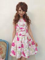 プリンセスJAPONローズ柄ピンク