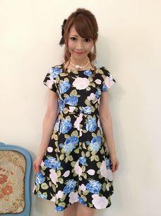 フレンチドールワンピ【プリンセスJAPONローズ柄】