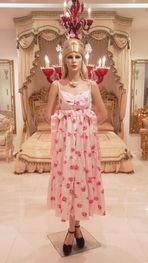 BBローズ柄ピンク